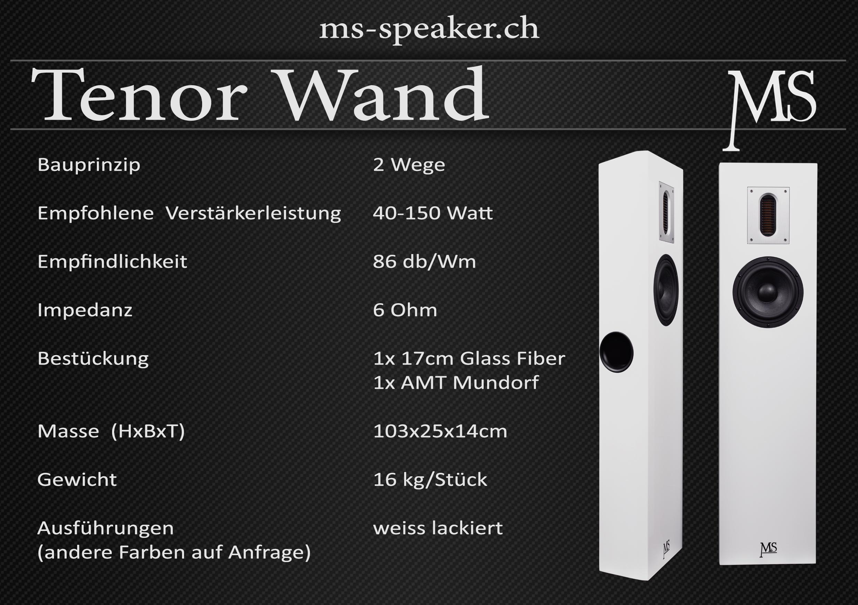 Tenor Wand
